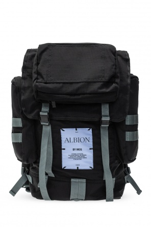 Backpack with logo od MCQ