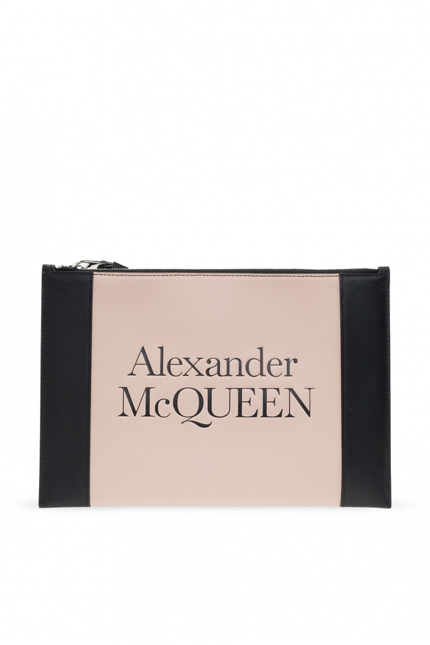 Alexander McQueen Clutch with logo