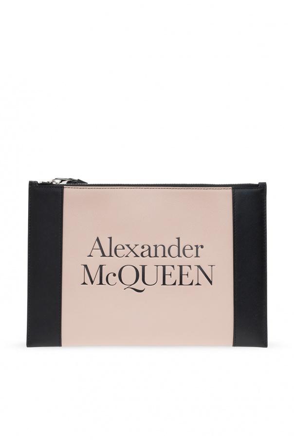 Alexander McQueen Kopertówka z logo