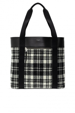 Shopper bag with logo od Saint Laurent