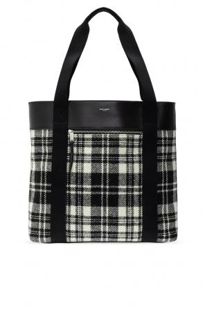 Shopper bag with logo od Saint Laurent