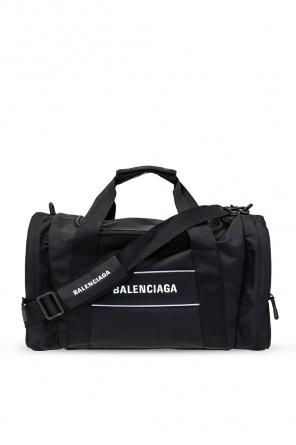 Branded duffel bag od Balenciaga