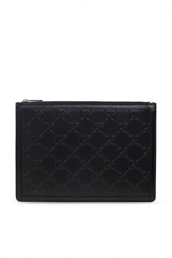 Gucci 'GG' pouch with logo