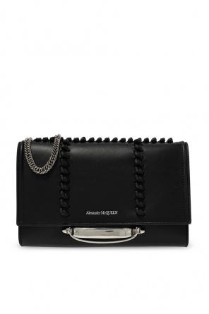 Leather shoulder bag od Alexander McQueen