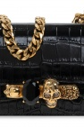 Alexander McQueen Shoulder bag w/ Swarovski crystals