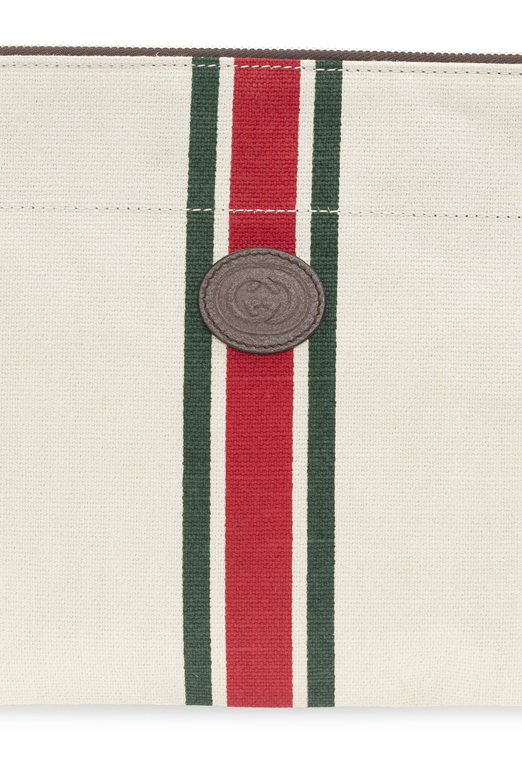 Gucci Pouch with Web stripe