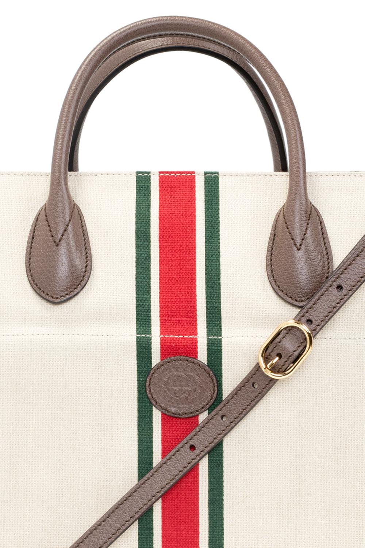 Gucci Linen shopper bag