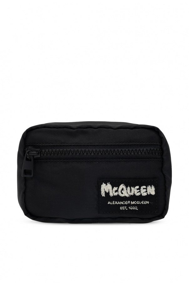 Alexander McQueen Pouch with lobster-clasp