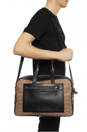 'academy' patterned holdall bag od Coach