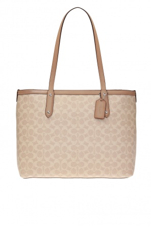 Logo-printed tote bag od Coach