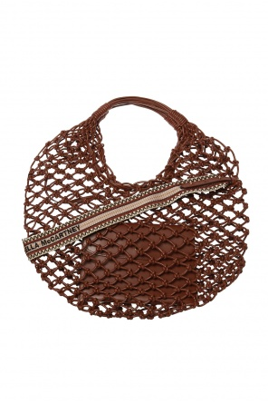 Woven shoulder bag od Stella McCartney