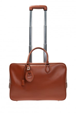 Leather suitcase od Alaia