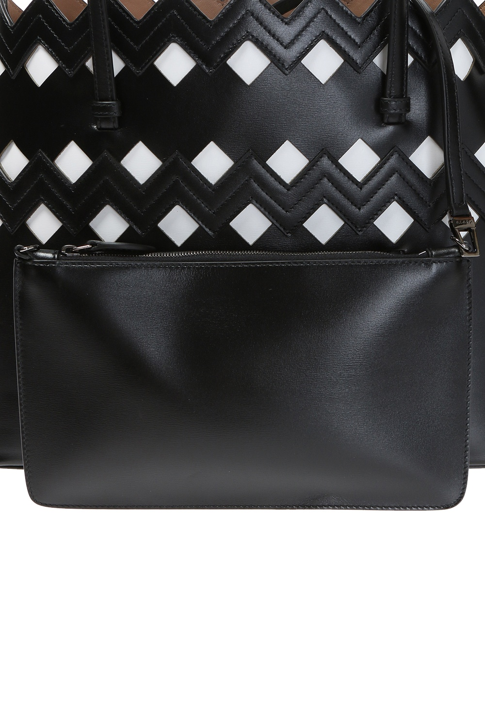 Alaia Stitching detail shoudler bag