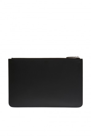 Leather clutch od Fendi