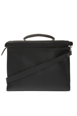 Leather briefcase od Fendi