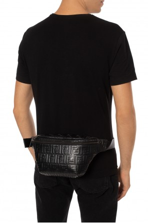 Logo-debossed belt bag od Fendi
