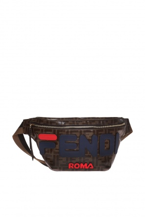 Logo-appliquéd belt bag od Fendi
