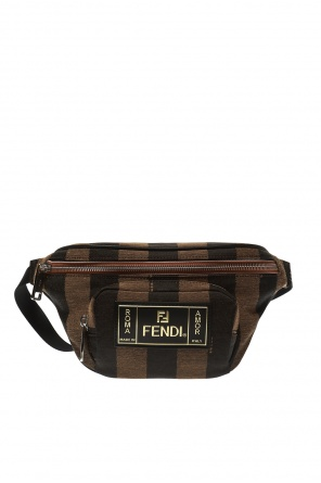 Appliqued belt bag od Fendi
