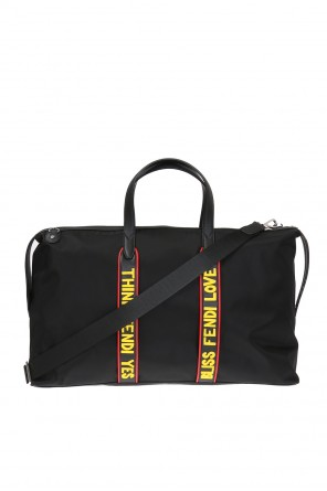 Holdall with inscriptions od Fendi