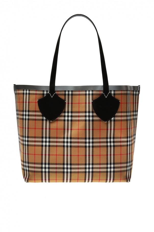 02dfda21dd66 The Giant  checked shopper bag Burberry - Vitkac shop online