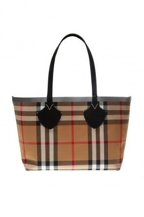 """the giant' checked shopper bag od Burberry"