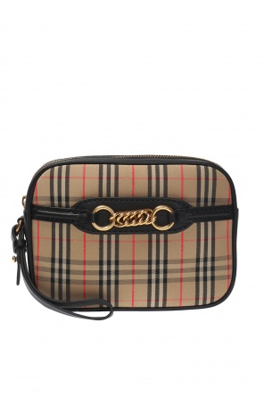 Waist bag 'the 1983' with a plaid pattern od Burberry