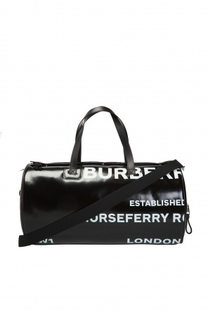 Branded duffle bag od Burberry