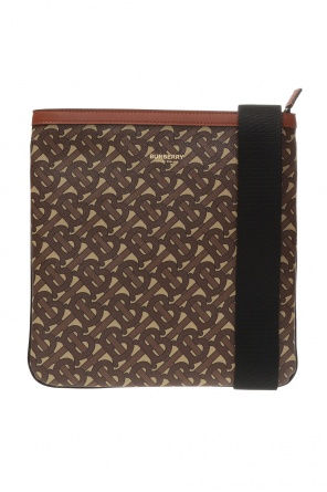 Patterned shoulder bag od Burberry
