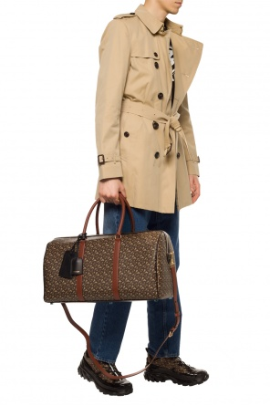 Patterned duffel bag od Burberry