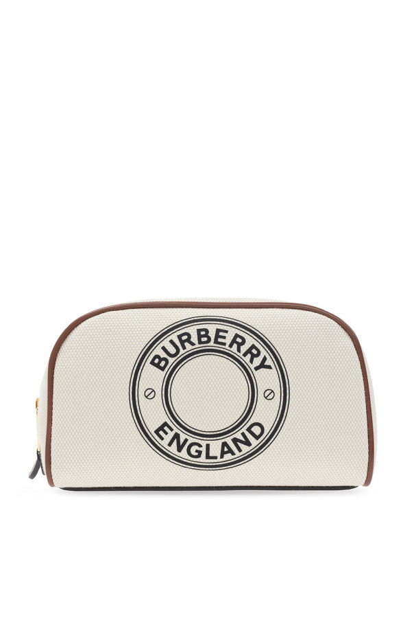 Burberry Wash bag with logo
