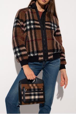 Checked shoulder bag od Burberry