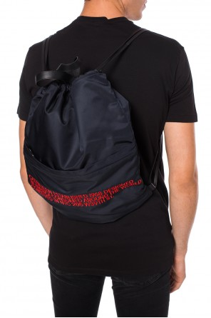Logo-embroidered backpack od Calvin Klein