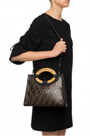 Shoulder bag with logo pattern od Fendi