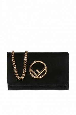 Shoulder bag with a logo od Fendi