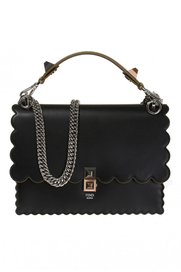 c6b13dfc1ecd Leather shoulder bag Fendi - Vitkac shop online