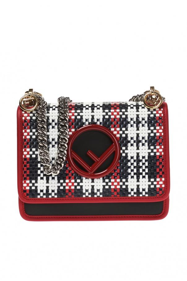 fd4afe24a8ed Kan I  woven shoulder bag Fendi - Vitkac shop online