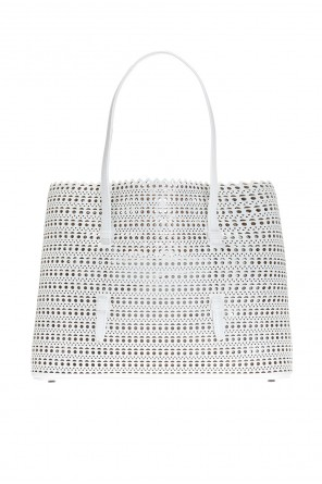 Perforated hand bag od Alaia