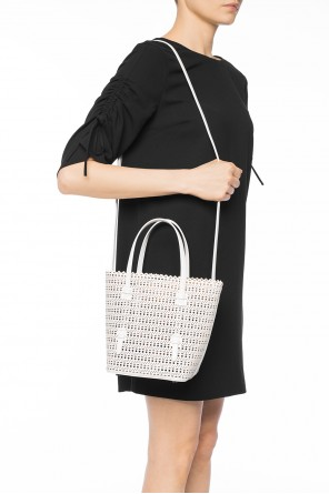 Perforated shoulder bag od Alaia