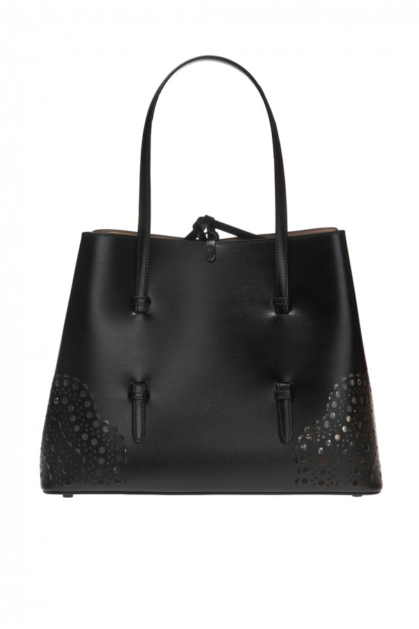 Alaia 'Mina' perforated handbag