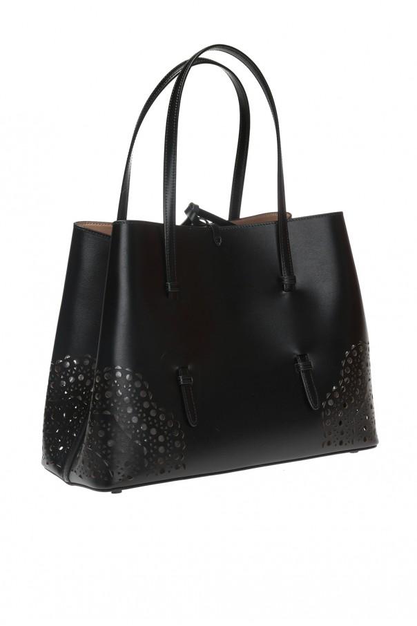 'mina' perforated handbag od Alaia