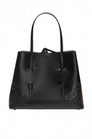 Perforated handbag od Alaia