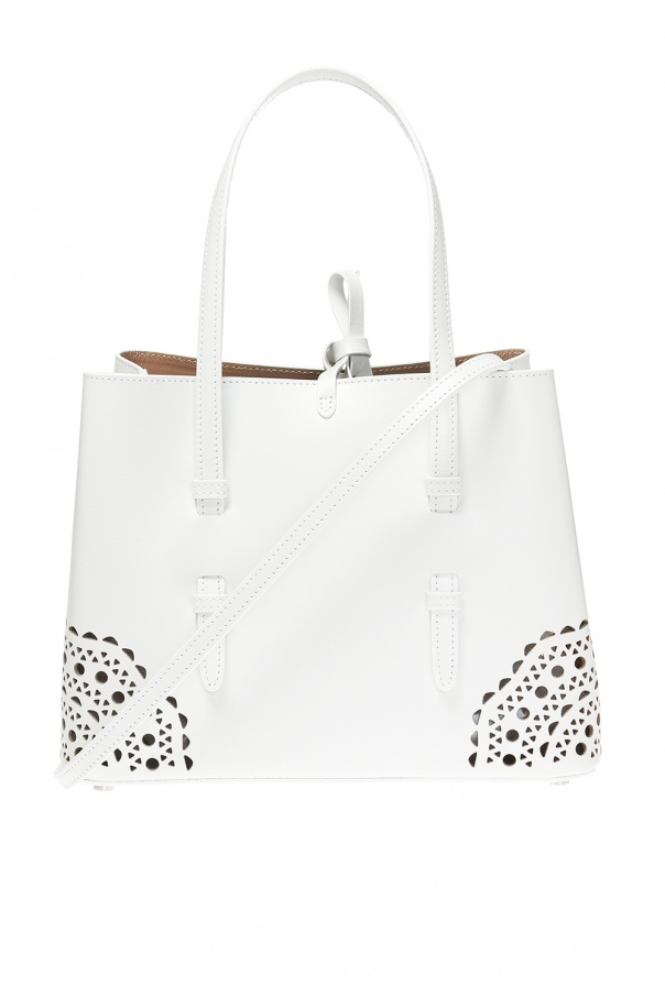 Alaia 'Mina' perforated shoulder bag