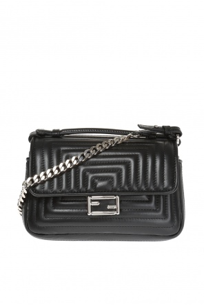 'double baguette' quilted shoulder bag od Fendi
