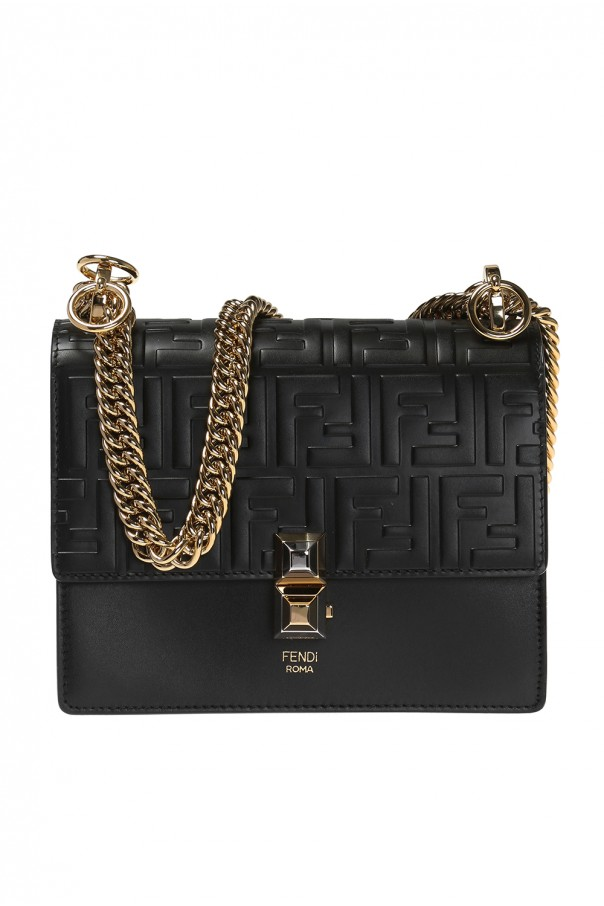 Shoulder bag with an embossed logo od Fendi