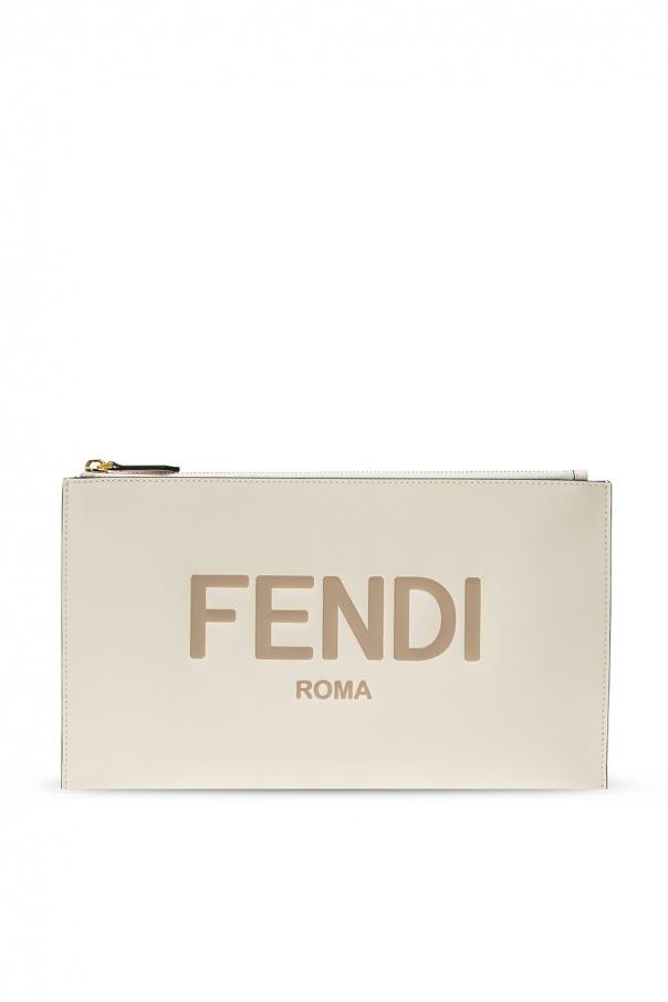 Fendi Clutch with logo