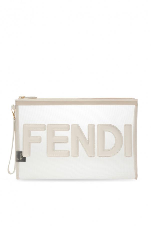 Fendi Transparent clutch