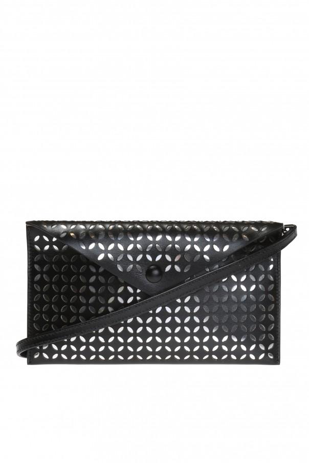 Openwork pattern shoulder bag od Alaia