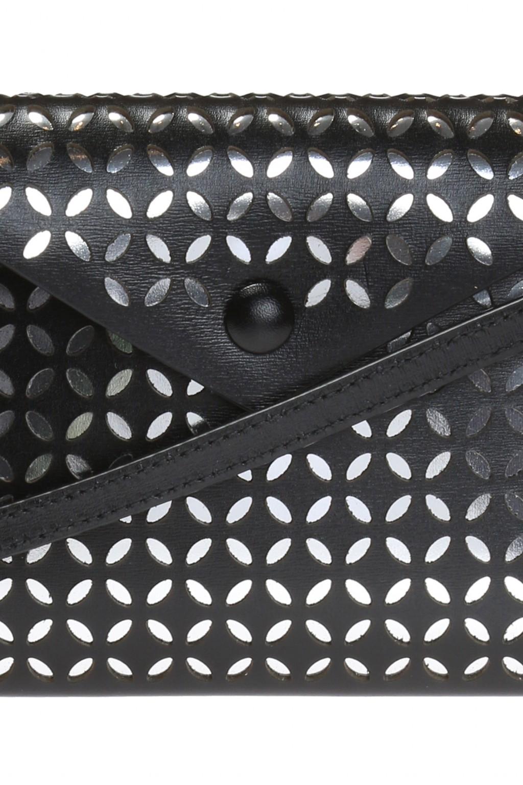 Alaia Openwork pattern shoulder bag