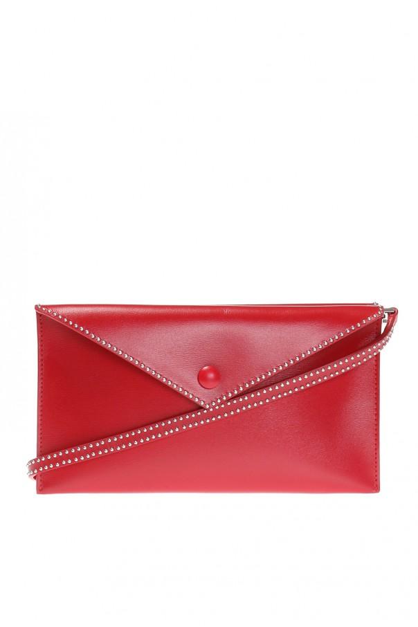 Leather shoulder bag od Alaia