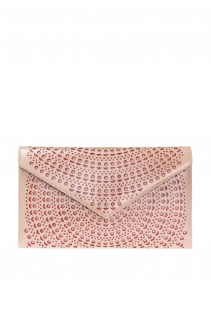 Perforated clutch od Alaia